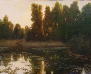 Farm Pond Morning Deborah Paris
