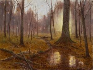 Autumn Sunrise, Lennox Woods Deborah Paris
