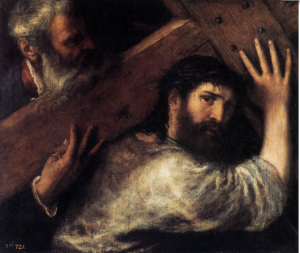 Christ Carrying the Cross Titian