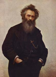 Portrait of Shishkin Ivan Kramsol